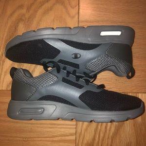 Boys Gray & Black Champion Sneakers